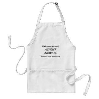 Atheist Airways Adult Apron