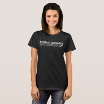 Atheist Airways Where You Don_t Have A Prayer  Men T-Shirt