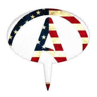 Atheist America Cake Picks