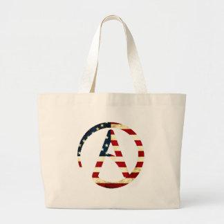 Atheist America Large Tote Bag