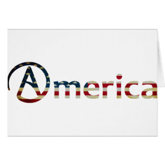 Atheist American Card