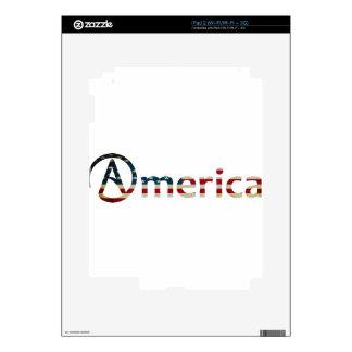 Atheist American iPad 2 Skin