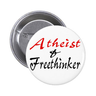 Atheist and Freethinker 2 Inch Round Button