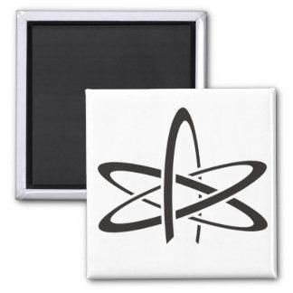 Atheist Atom 2 Inch Square Magnet