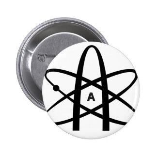 Atheist Atom Pin
