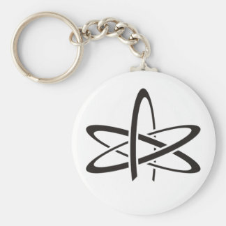 Atheist Atom Keychain