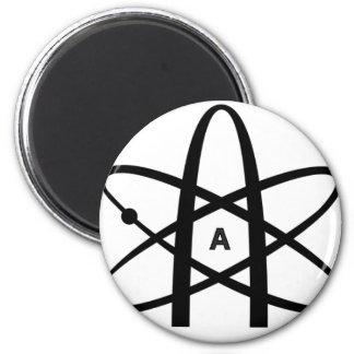 Atheist Atom Refrigerator Magnets