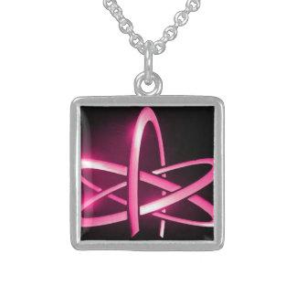 Atheist Atom Symbol Necklace