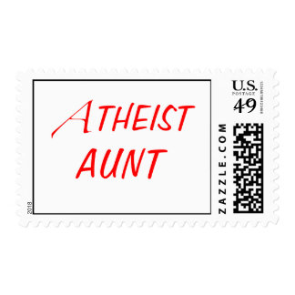 Atheist Aunt Stamps