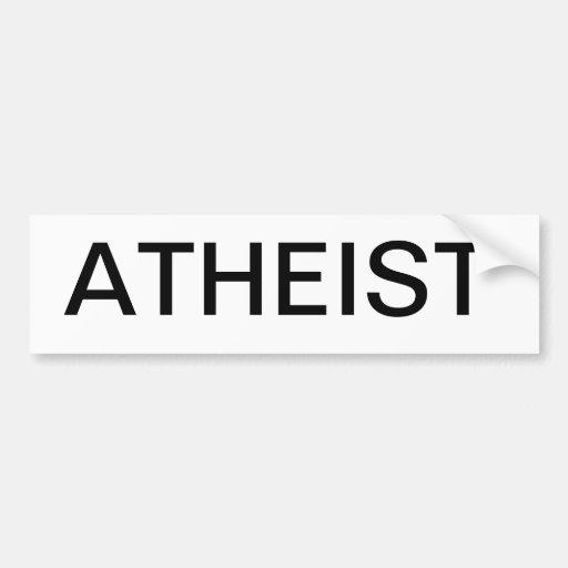 ATHEIST - Auto Auto Sticker