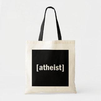 [atheist] canvas bag