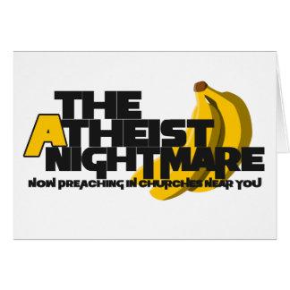 Atheist Banana Card