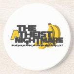 Atheist Banana Coasters