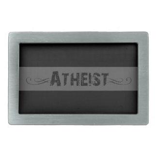 Atheist Rectangular Belt Buckles