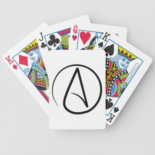 @ Atheist Bicycle Playing Cards