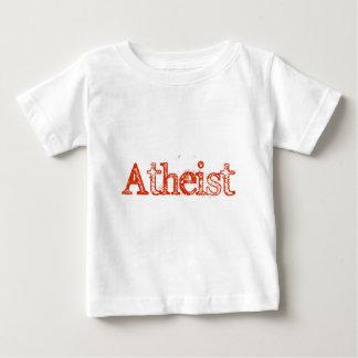 Atheist Bright Red Baby T-Shirt