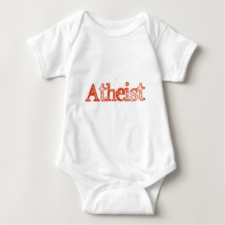 Atheist Bright Red T Shirt