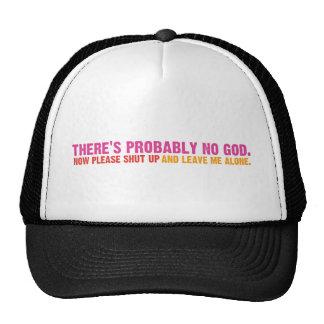 Atheist Bus Campaign (Variation) Trucker Hat