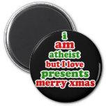 Atheist Christmas Magnets