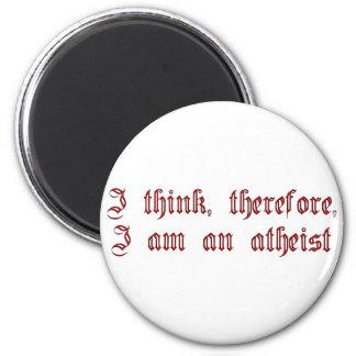 Atheist Cogito Refrigerator Magnets