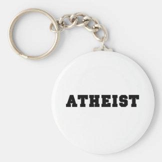 Atheist Collegiate Logo Keychain