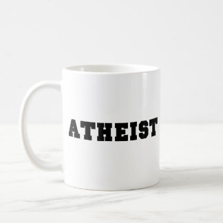 Atheist Collegiate Logo Classic White Coffee Mug