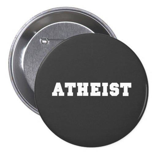 Atheist Collegiate Logo Pinback Buttons