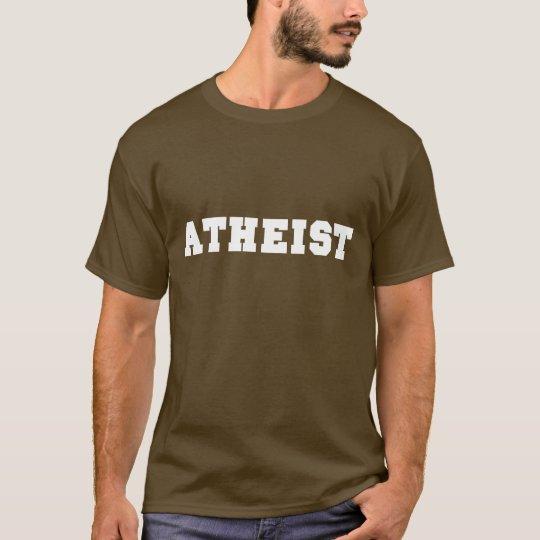 Atheist Collegiate Logo T-Shirt