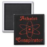 Atheist Conspirator Fridge Magnets