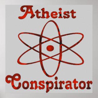 Atheist Conspirator Poster
