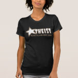 Atheist (crisp taupe) shirt