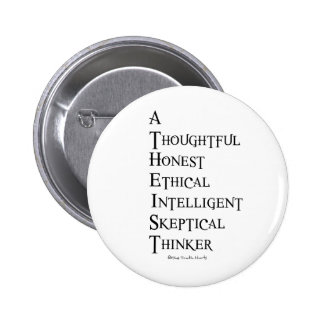 Atheist Defined 2 Inch Round Button