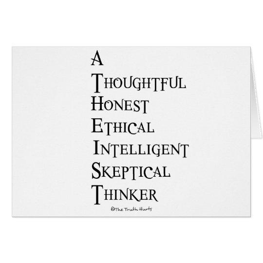 Atheist Defined Card