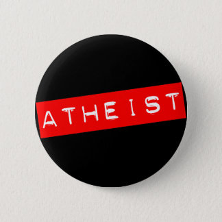 Atheist Dymo Label Button