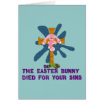 Atheist Easter Bunny Greeting Cards