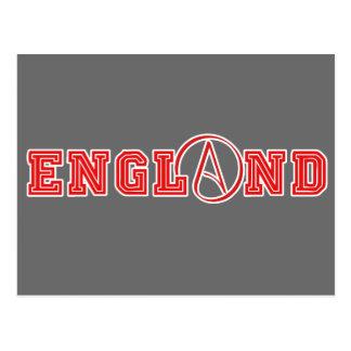 Atheist England Postcard
