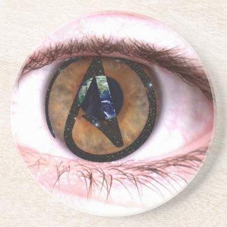 Atheist Eye Coaster
