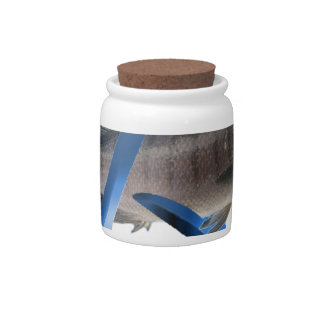 Atheist Fish Candy Jar