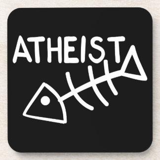 Atheist Fish Coaster