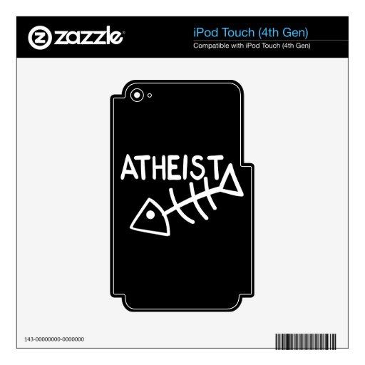 Atheist Fish iPod Touch 4G Skin