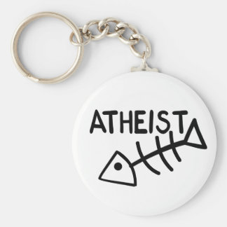 Atheist Fish Key Chain