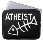 Atheist Fish Laptop Sleeve