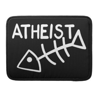 Atheist Fish Sleeve For MacBook Pro