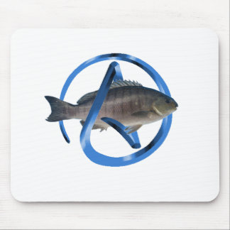 Atheist Fish Mouse Pads