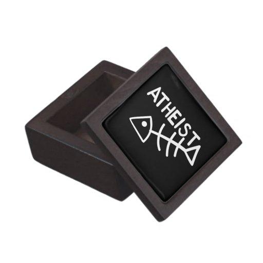 Atheist Fish Premium Trinket Box