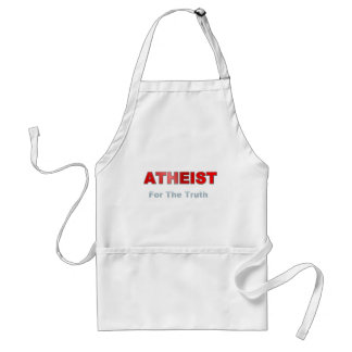 Atheist For Truth Apron