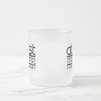 Atheist Frosted Glass Coffee Mug