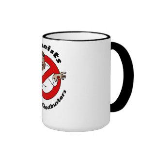 Atheist Ghostbusters Ringer Mug