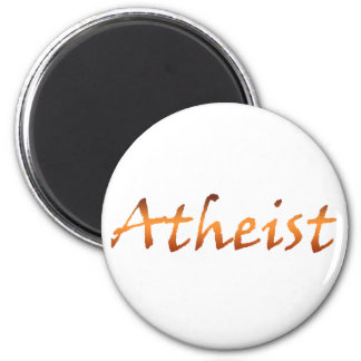 Atheist Gold Magnet