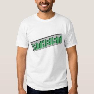 ATHEIST Green Optical Illusion T Shirt